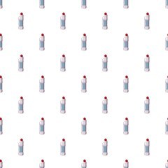 Plastic bottle of detergent pattern seamless repeat in cartoon style vector illustration