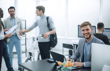 business team in the workplace