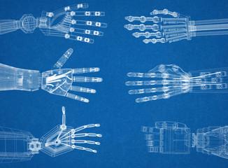 Robotic Arm - Hands Architect Blueprint