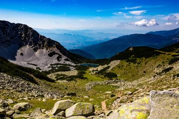 Scenery summer landscape, Pirin Mountain, Bulgaria