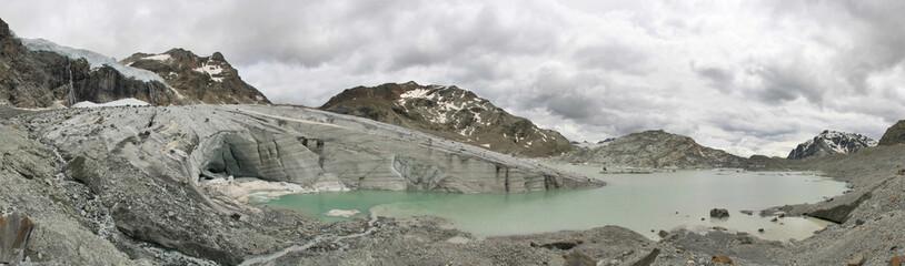 Photo sur Plexiglas Glaciers lago di Fellaria
