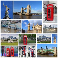 London image collage