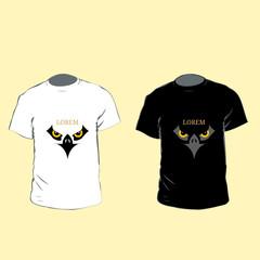 Eagle Logo T-Shirt. Men t-shirt design with eagle logo
