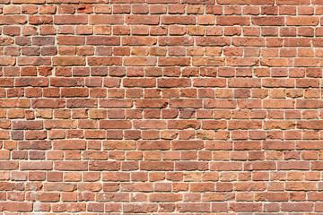 Photo sur Aluminium Brick wall Background of red brick wall pattern texture.