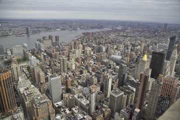 New York  Manhattan dall'alto