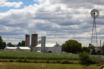 Wind Mill on Lancaster County Farm