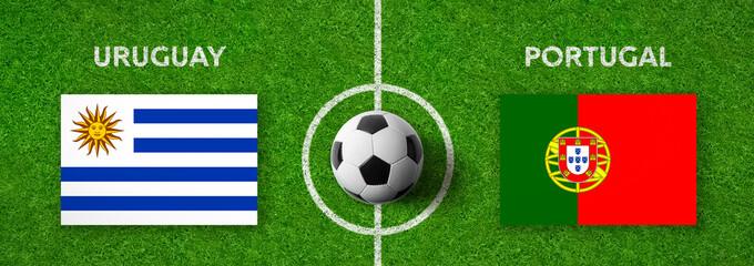 Fußball - Uruguay gegen Portugal