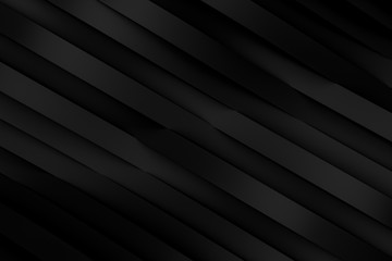 Abstract simple curve creative design. Smooth Shapes minimal concept background. 3d Rendering
