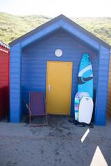 Beach hut saltburn