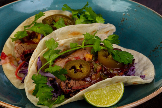 Tacos with meat