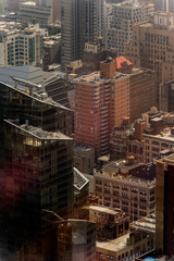Rooftops of the buildings of Manhattan, New York, NY, United States of Americs