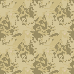Camo background in green, brown and beige colors