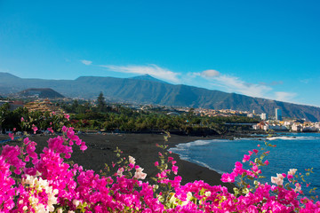 playa Jardin, Puerto Cruz, Tenerife, Spain