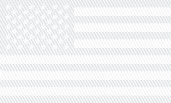 american flag stripes concept with gray color