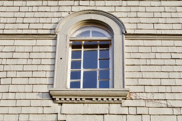 Antique Half Round Window