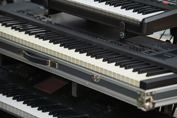 Live music keyboard