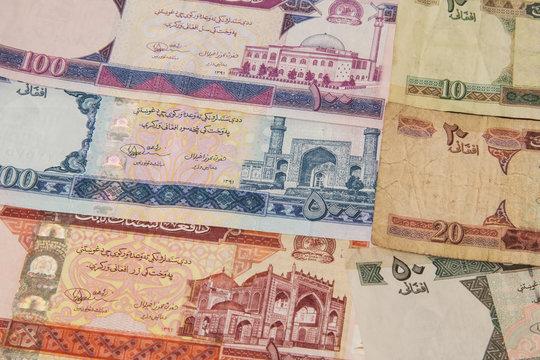 money Afghanistan background
