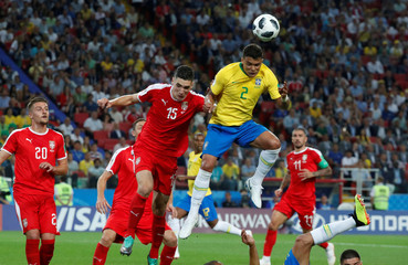 World Cup - Group E - Serbia vs Brazil