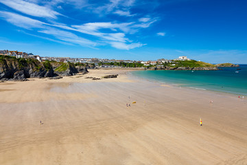 Wall Mural - Great Western Beach Newquay Cornwall England