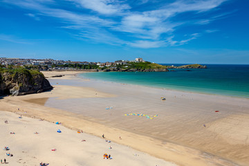 Tolcarne Beach Newquay Cornwall England