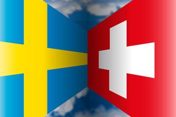 Sweden VS Switzerland, Russia 2018, eighths of final