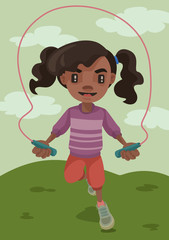 Jump Rope Lil' Girl