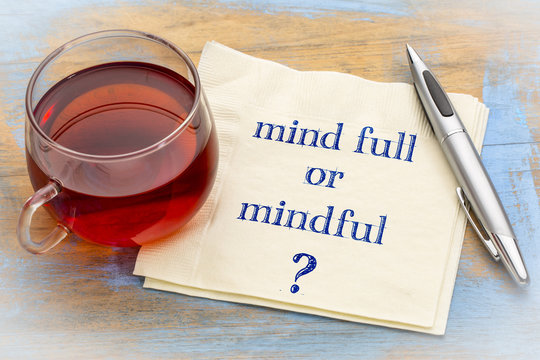 Mind full or mindful question