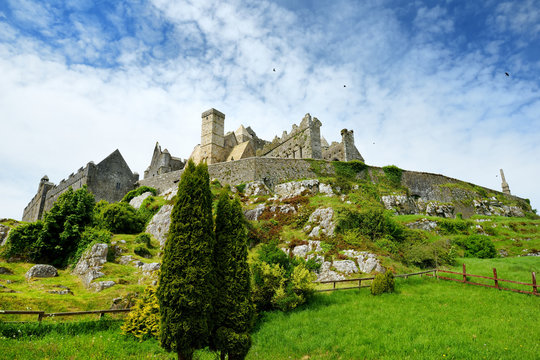 The Rock of Cashel, a historic site located at Cashel, County Tipperary, Ireland