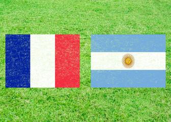 France vs Argentina Sports Background