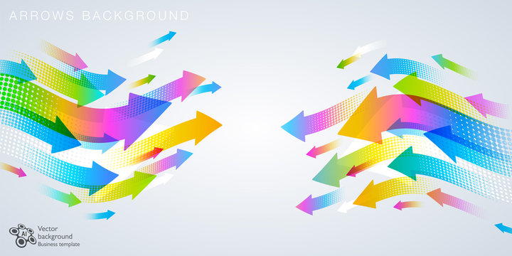 Arrows Background #Vector Graphics