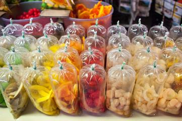 Jeruk or Preserved Fruits in Penang