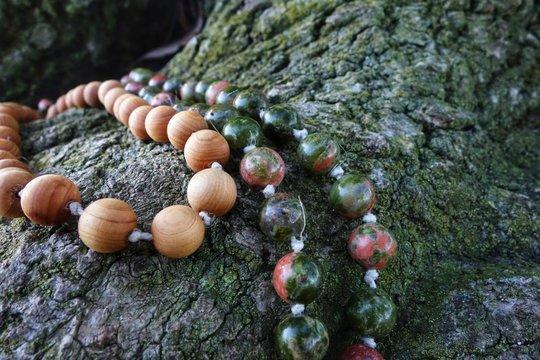 Mala Bead Prayer Necklace