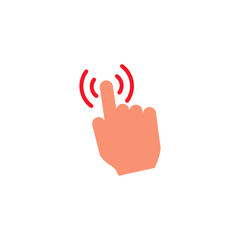 Touch System Support Logo Icon Design
