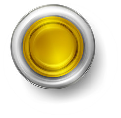 A small cup of olive oil