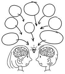 A Doodle of People Idea