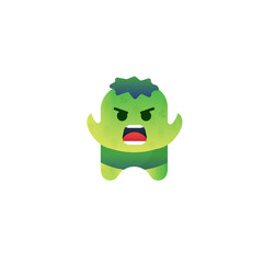 Green Monster Character