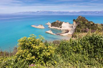 Akra Drastis cape in Corfu Island