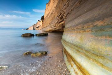 Loggas Beach in Corfu Island