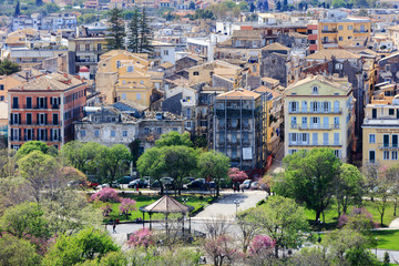 Town of Kerkira (Corfu)