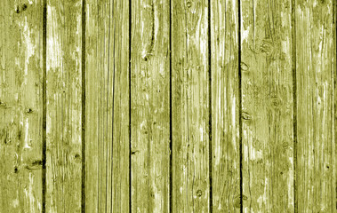 Wooden fence pattern in yellow tone.