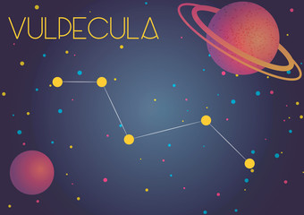 The constellation Vulpecula