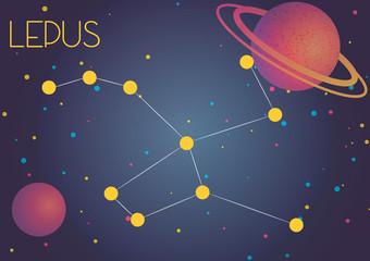 The constellation Lepus