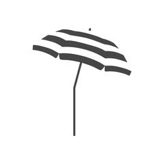 Obraz Vector Beach Umbrella icon, Parasol icon - fototapety do salonu