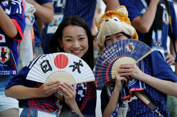 World Cup - Group H - Japan vs Poland