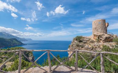 Aussichtsturm, Westküste Mallorca
