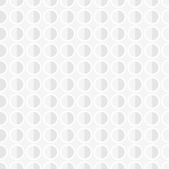 popular abstract white gray european gorgeous oval circle stack luxury pattern seamless wallpaper background