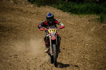 Motocross competition unduro