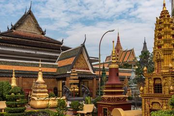 Kambodscha - Siem Reap - Wat Preah Prom Rath