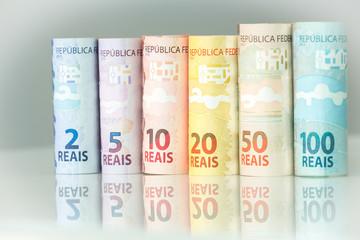 Brazilian money / various denomination
