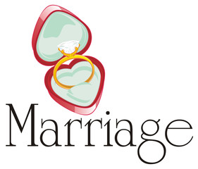 ring, stone, diamond, engagement ring, symbol, marriage, wedding, marry me, jewel, illustration, cartoon, word
